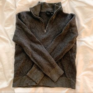 REAL CASHMERE QUARTER ZIP Saks Fifth Ave.